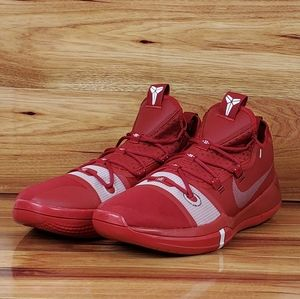 New Nike Kobe AD Exodus TB Basketball Shoes Red